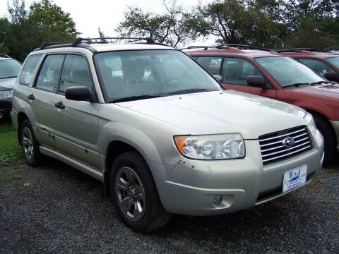 2006 Subaru Forester for sale at B & J Auto Sales in Tunnelton WV