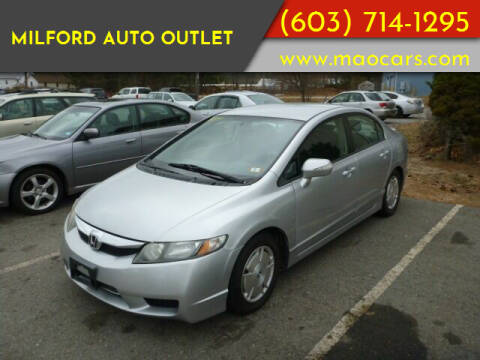 2009 Honda Civic for sale at Milford Auto Outlet in Milford NH