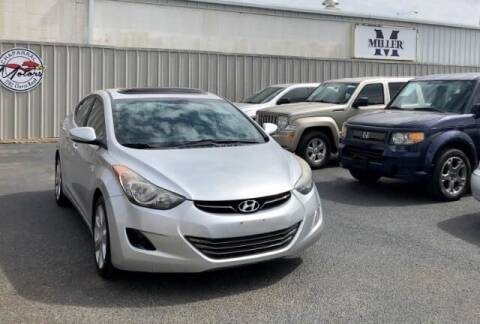2012 Hyundai Elantra for sale at Chaparral Motors in Lubbock TX