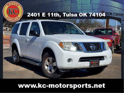 2008 Nissan Pathfinder for sale at KC MOTORSPORTS in Tulsa OK
