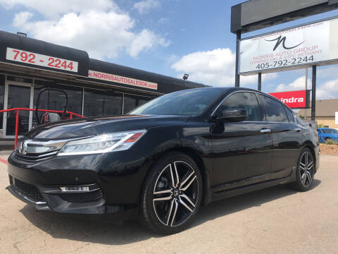 2016 Honda Accord for sale at NORRIS AUTO SALES in Oklahoma City OK