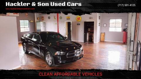 2013 Dodge Charger for sale at Hackler & Son Used Cars in Red Lion PA