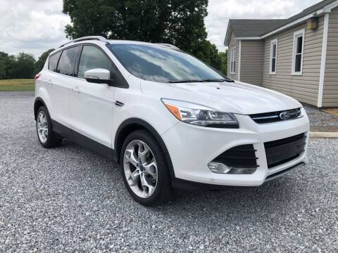2016 Ford Escape for sale at Curtis Wright Motors in Maryville TN