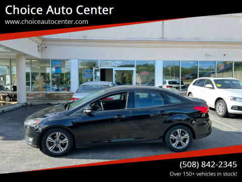 2017 Ford Focus for sale at Choice Auto Center in Shrewsbury MA