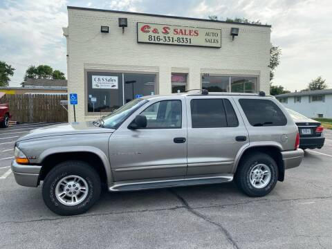 2000 Dodge Durango for sale at C & S SALES in Belton MO