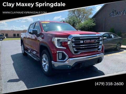 2021 GMC Sierra 1500 for sale at Clay Maxey Springdale in Springdale AR
