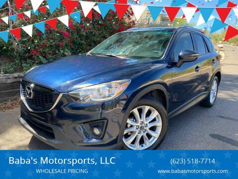 2015 Mazda CX-5 for sale at Baba's Motorsports, LLC in Phoenix AZ