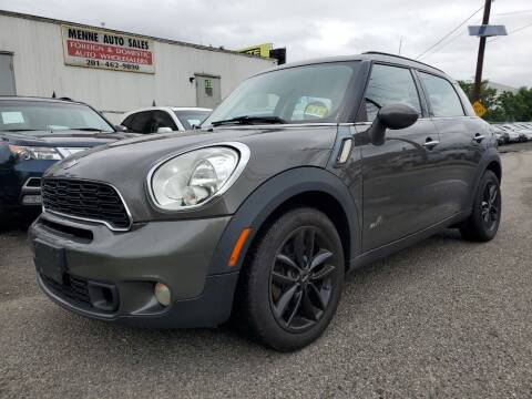 2012 MINI Cooper Countryman for sale at MENNE AUTO SALES LLC in Hasbrouck Heights NJ