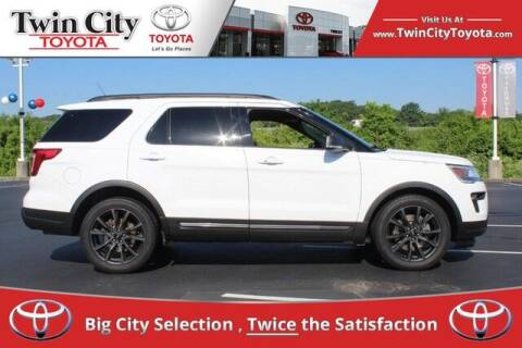 2018 Ford Explorer for sale at Twin City Toyota in Herculaneum MO