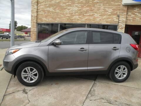 2011 Kia Sportage for sale at Kingdom Auto Centers in Litchfield IL