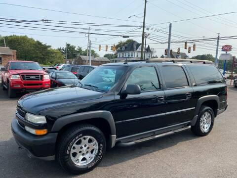 2002 Chevrolet Suburban for sale at Masic Motors, Inc. in Harrisburg PA