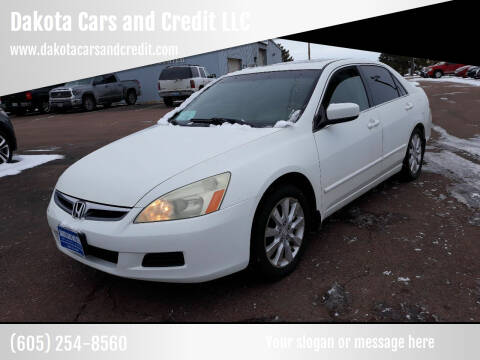 2006 Honda Accord for sale at Dakota Cars and Credit LLC in Sioux Falls SD