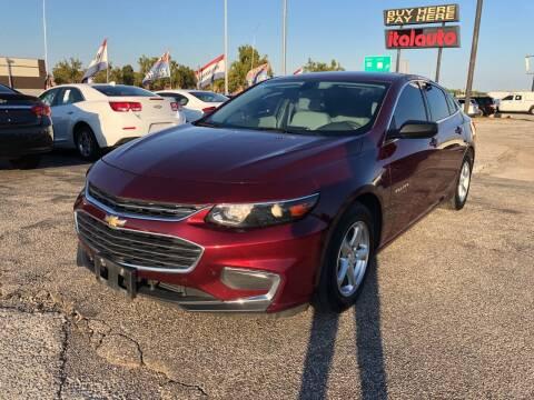 2016 Chevrolet Malibu for sale at Ital Auto in Oklahoma City OK