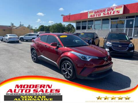 2018 Toyota C-HR for sale at Modern Auto Sales in Hollywood FL