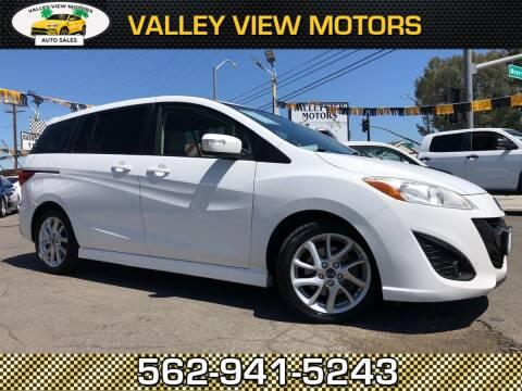 2014 Mazda MAZDA5 for sale at Valley View Motors in Whittier CA