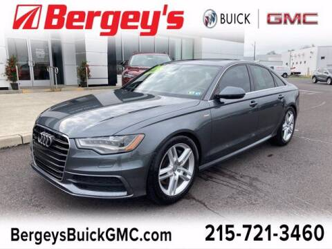 2014 Audi A6 for sale at Bergey's Buick GMC in Souderton PA