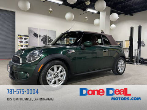 2012 MINI Cooper Convertible for sale at DONE DEAL MOTORS in Canton MA