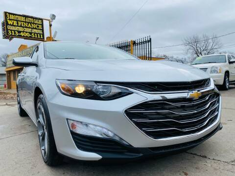 2020 Chevrolet Malibu for sale at 3 Brothers Auto Sales Inc in Detroit MI
