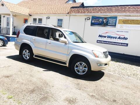 2006 Lexus GX 470 for sale at New Wave Auto of Vineland in Vineland NJ