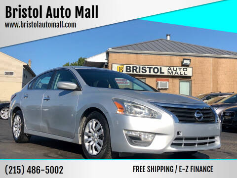 2014 Nissan Altima for sale at Bristol Auto Mall in Levittown PA