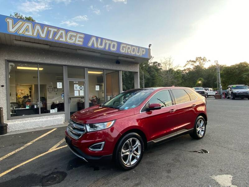 2016 Ford Edge for sale at Vantage Auto Group in Brick NJ