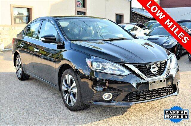 2017 Nissan Sentra for sale at LAKESIDE MOTORS, INC. in Sachse TX