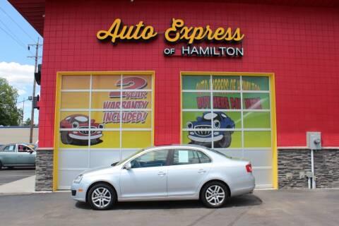 2007 Volkswagen Jetta for sale at AUTO EXPRESS OF HAMILTON LLC in Hamilton OH