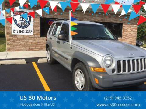 2006 Jeep Liberty for sale at US 30 Motors in Merrillville IN
