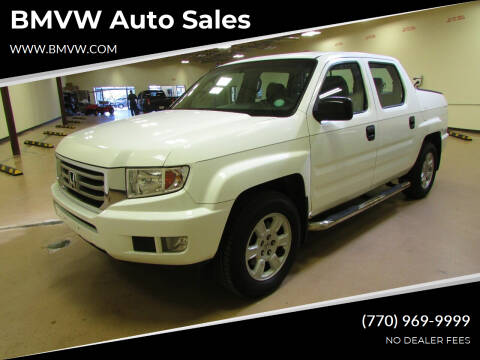 2012 Honda Ridgeline for sale at BMVW Auto Sales - Trucks and Vans in Union City GA