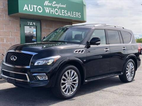 2017 Infiniti QX80 for sale at New England Wholesalers in Springfield MA
