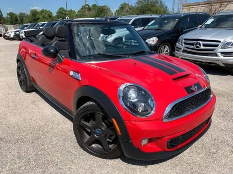 2012 MINI Cooper Convertible for sale at KAYALAR MOTORS in Houston TX
