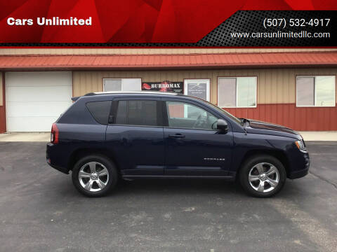 2014 Jeep Compass for sale at Cars Unlimited in Marshall MN