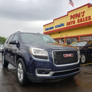 2015 GMC Acadia for sale at Popas Auto Sales in Detroit MI