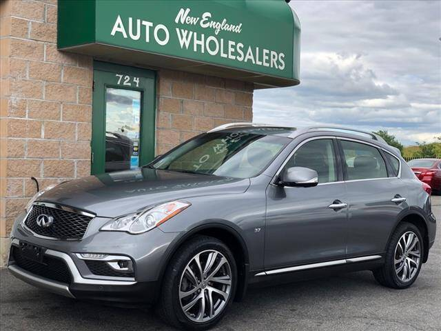 2017 Infiniti QX50 for sale at New England Wholesalers in Springfield MA
