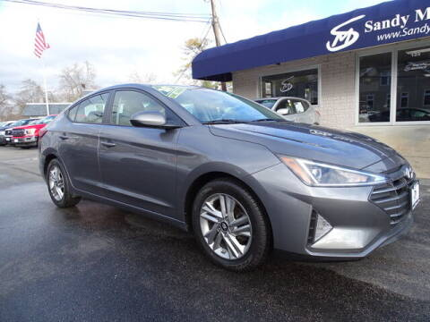 2020 Hyundai Elantra for sale at Sandy Motors Inc in Coventry RI