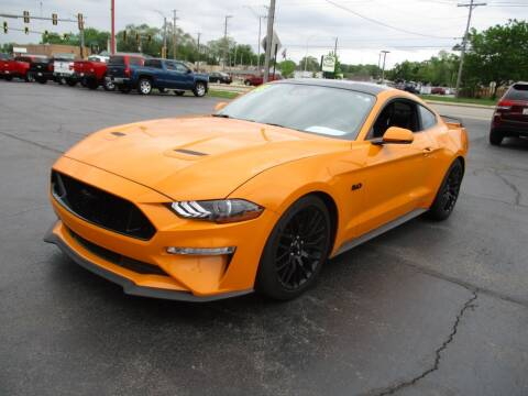 2018 Ford Mustang for sale at Windsor Auto Sales in Loves Park IL