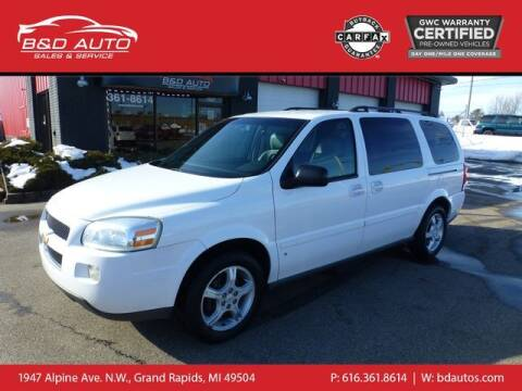 2006 Chevrolet Uplander for sale at B&D Auto Sales Inc in Grand Rapids MI