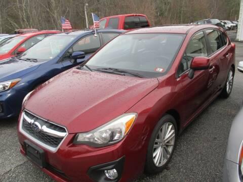 2013 Subaru Impreza for sale at Metropolis Auto Sales in Pelham NH