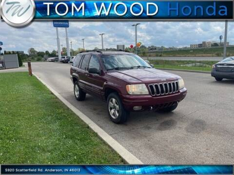 2001 Jeep Grand Cherokee for sale at Tom Wood Honda in Anderson IN