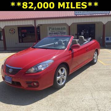 2008 Toyota Camry Solara for sale at PITTMAN MOTOR CO in Lindale TX