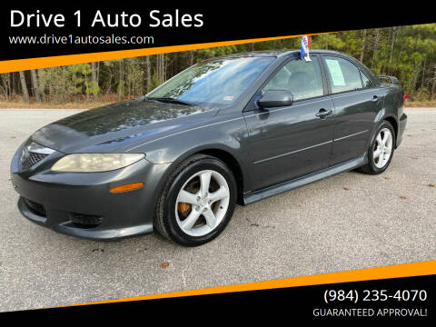 2004 Mazda MAZDA6 for sale at Drive 1 Auto Sales in Wake Forest NC