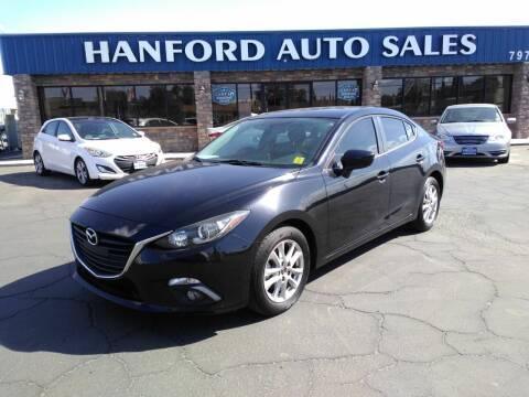 2016 Mazda MAZDA3 for sale at Hanford Auto Sales in Hanford CA