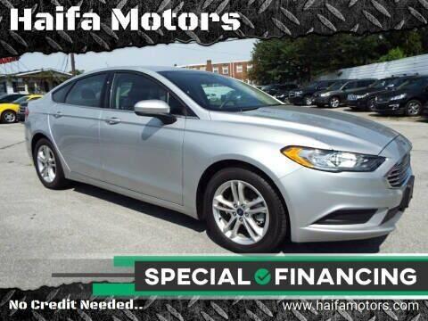 2018 Ford Fusion for sale at Haifa Motors in Philadelphia PA