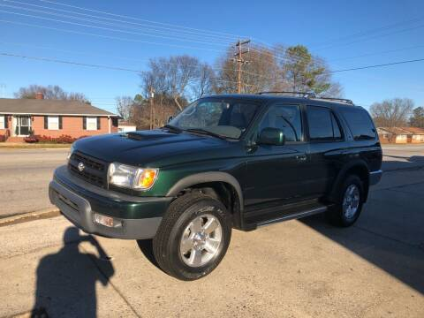 1999 Toyota 4Runner for sale at E Motors LLC in Anderson SC