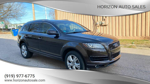 2011 Audi Q7 for sale at Horizon Auto Sales in Raleigh NC