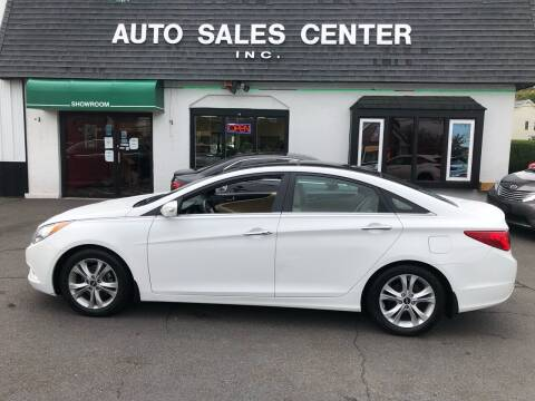 2013 Hyundai Sonata for sale at Auto Sales Center Inc in Holyoke MA