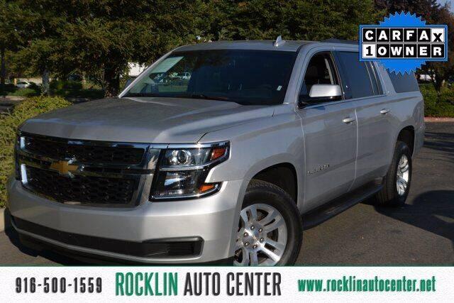 2019 Chevrolet Suburban for sale at Rocklin Auto Center in Rocklin CA