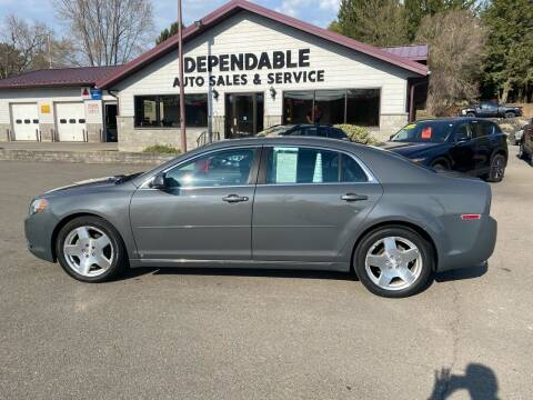 2009 Chevrolet Malibu for sale at Dependable Auto Sales and Service in Binghamton NY