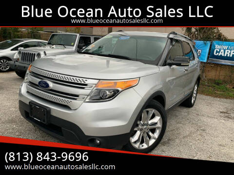 2013 Ford Explorer for sale at Blue Ocean Auto Sales LLC in Tampa FL