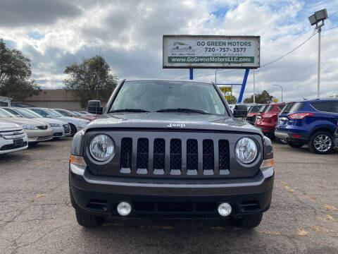 2015 Jeep Patriot for sale at GO GREEN MOTORS in Lakewood CO